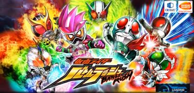 Kamen Rider Battle Rush v1.2.7 Mod Apk (Japan Version)