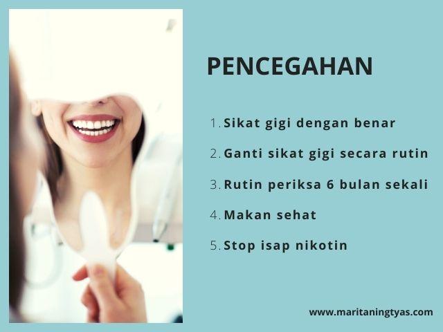 cara mencegah bau mulut
