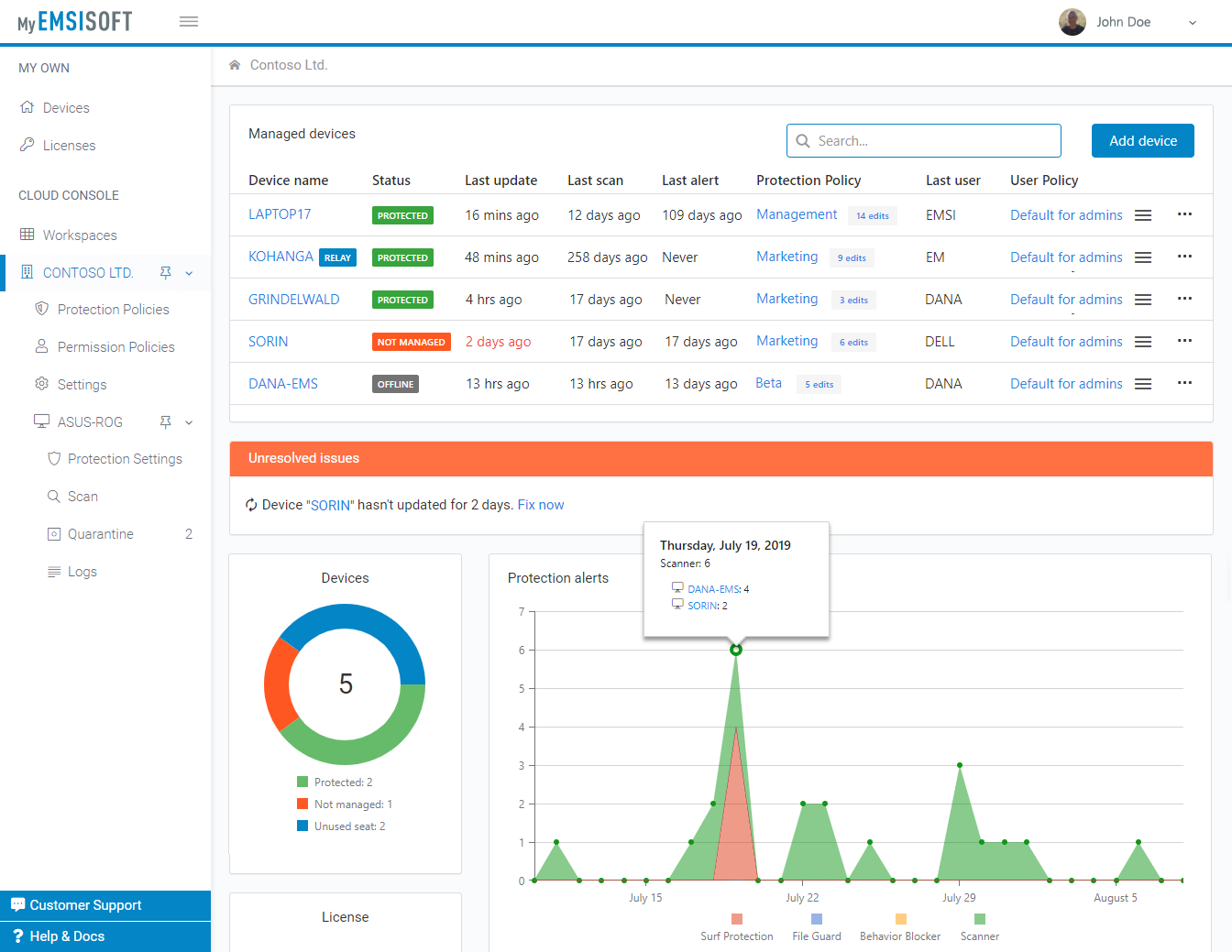 Emsisoft Anti-Malware 2020.7.0.10272