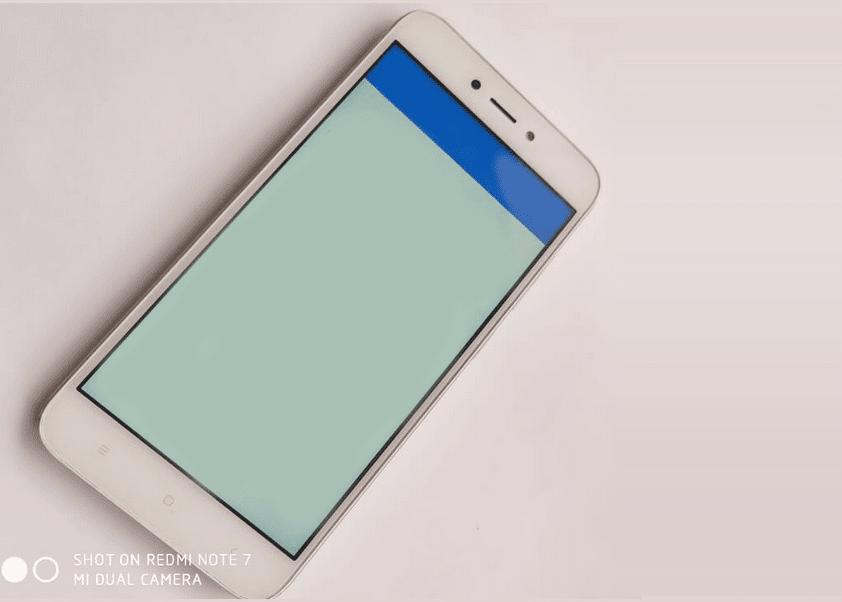 Mengecek Layar Xiaomi Dari Fisik