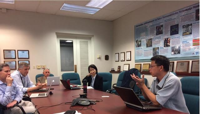 智庫成員與美國阿岡國家實驗室與芝加哥大學能源政策研究所交流