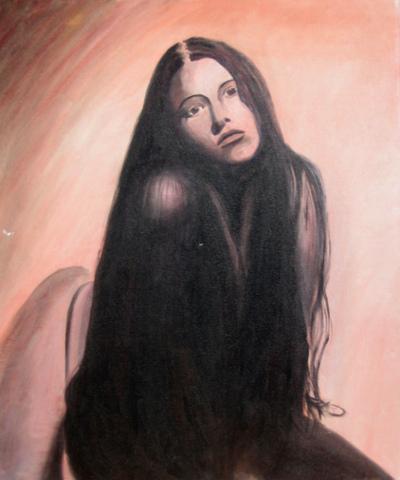Christina Symanski: Self portrait