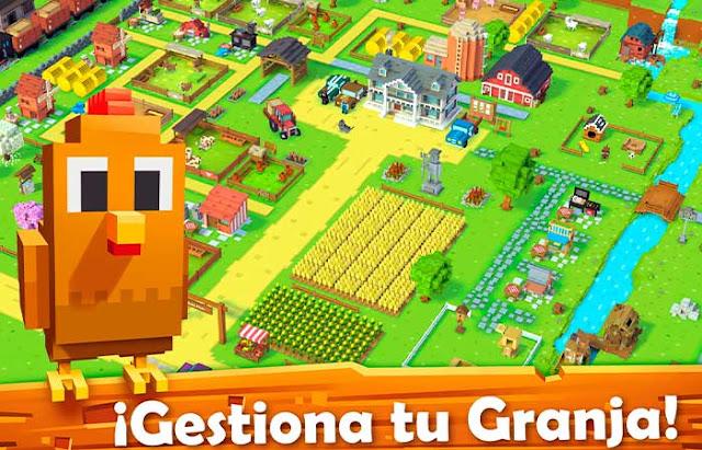 blocky farm sin internet