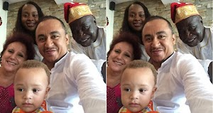 Lovely photo of OAP Freeze With His Son, Dad And Mum