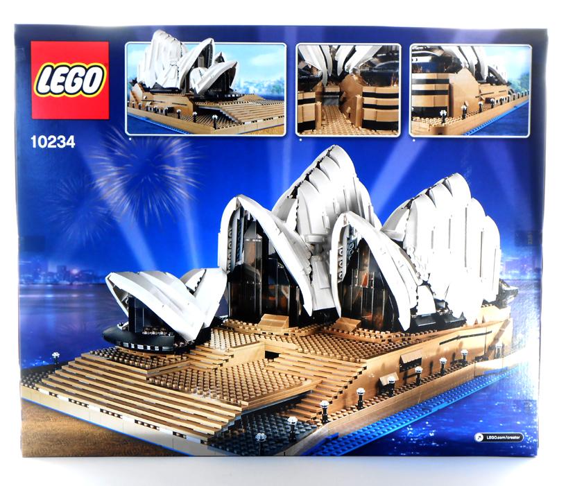 brand new in box lego creator sydney opera house 10234. Black Bedroom Furniture Sets. Home Design Ideas