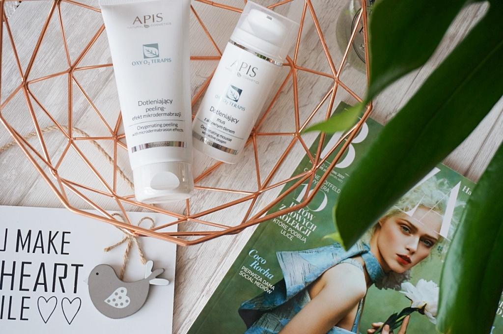 Nowości Apis Natural Cosmetics - peeling z efektem mikrodermabrazji, mus dotleniający i hydrożelowy tonik z kwasem hialuronowym