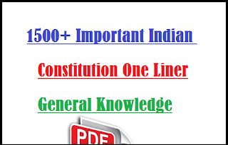 1500+ Indian Polity & Constitution MCQs Pdf Download