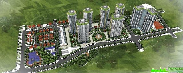 Phối cảnh dự án chung cư Mipec Kiến Hưng Hà Đông