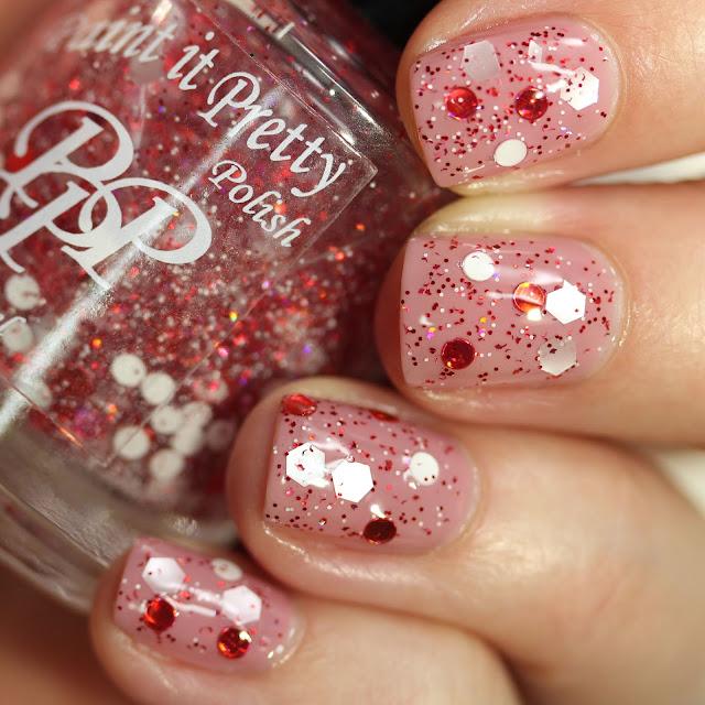Paint It Pretty Polish Candy Cane glitter