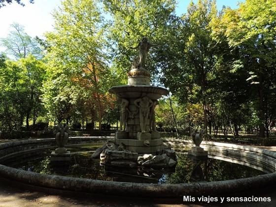 Fuente de Narciso, Jardín del Principe, Aranjuez, Madrid