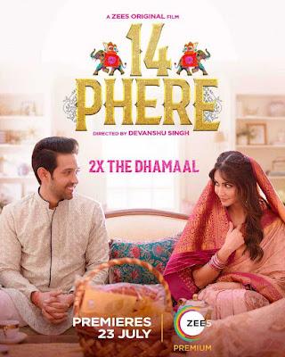 14 Phere (2021) Hindi 720p HDRip ESub x265 HEVC 550Mb