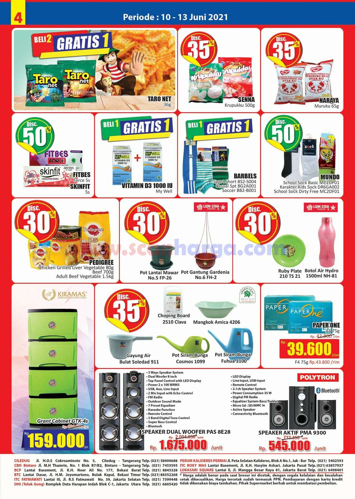 Katalog Promo JSM Hari Hari Swalayan Weekend 10 - 13 Juni 2021 4