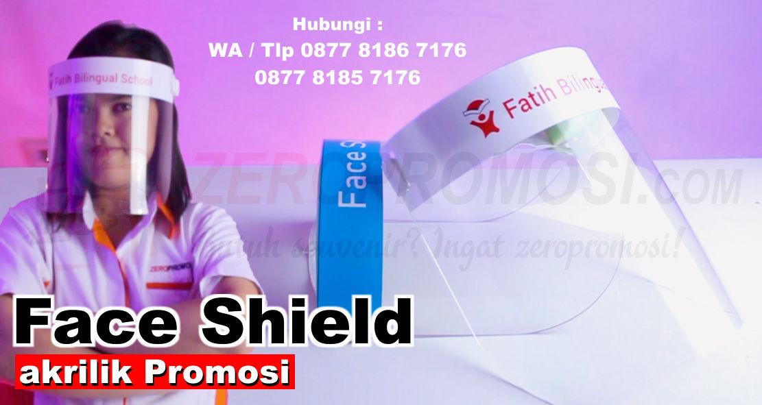 Souvenir Face Shield Acrylic Kaca APD, APD Face Shield, Custom Acrylic, Face Shield Acrylic promosi, face shield pelindung wajah, faceshield muka akrilik, Visor Akrilik