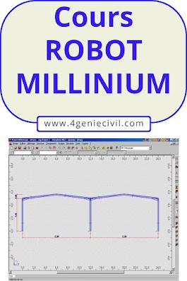 Formation logiciel Robot Millenium genie civil pdf