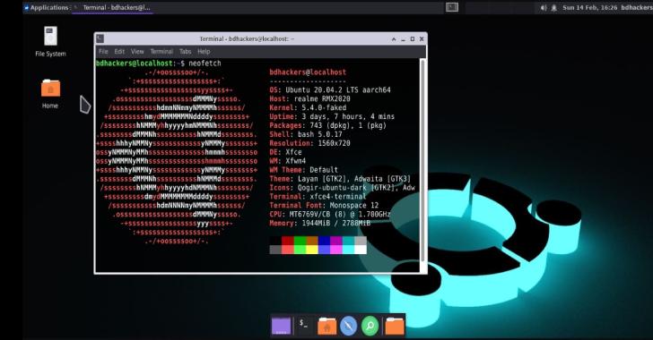 Modded-Ubuntu : Run Ubuntu GUI On Your Termux With Much Features