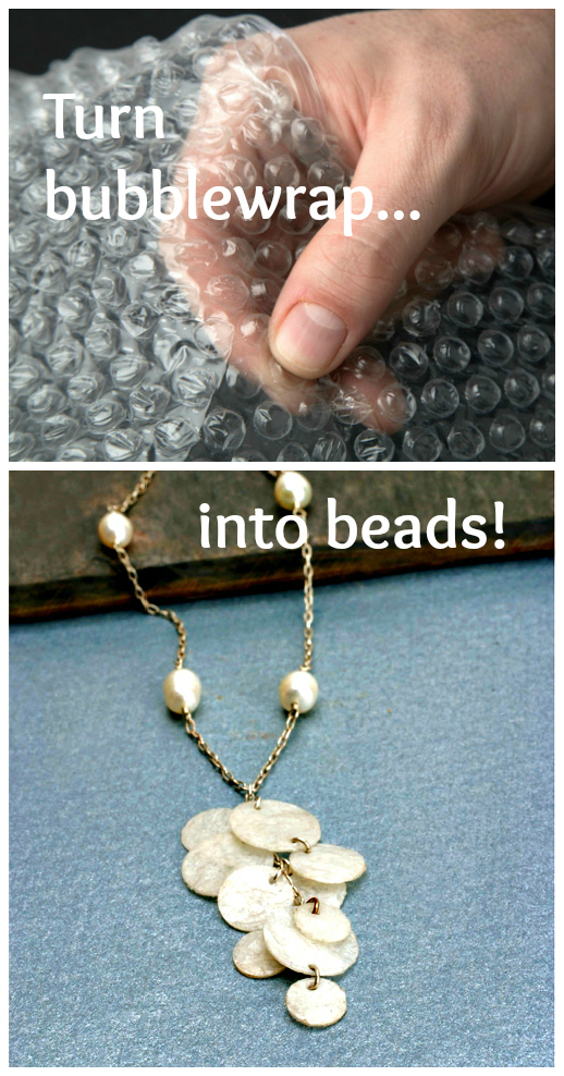 bubblewrap beads