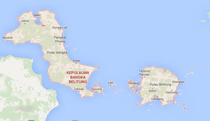 Nama Kabupaten Kota Di Provinsi Kepulauan Bangka Belitung Negeri Pesona