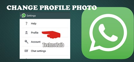 If you want to change your profile photo to WhatsApp, go to settings and then to profile. Then tap the pencil at the bottom.