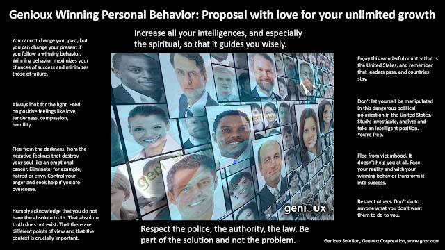 Genioux Winning Personal Behavior