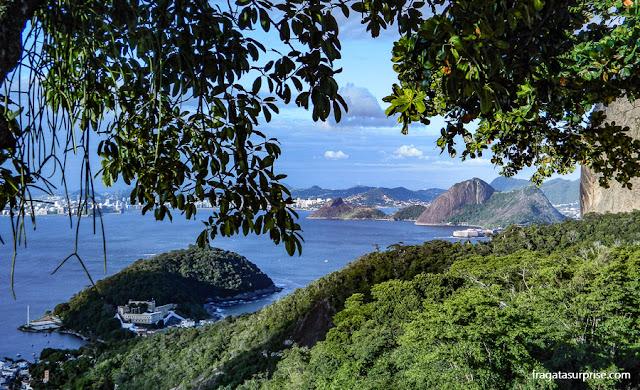 A Baía de Guanabara vista da Urca, Rio de Janeiro