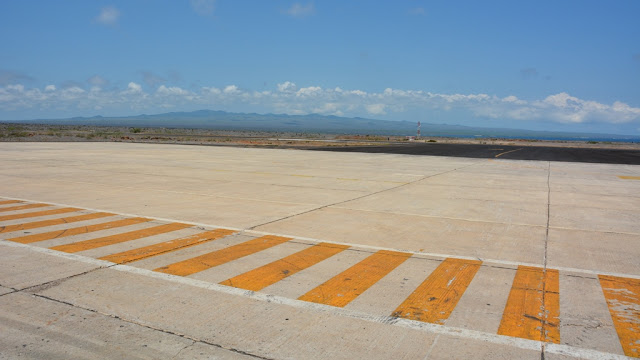 Baltra Airport strip