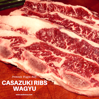 casazuki rib wagyu / galbi