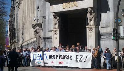 Concentración conxunta en Bilbao