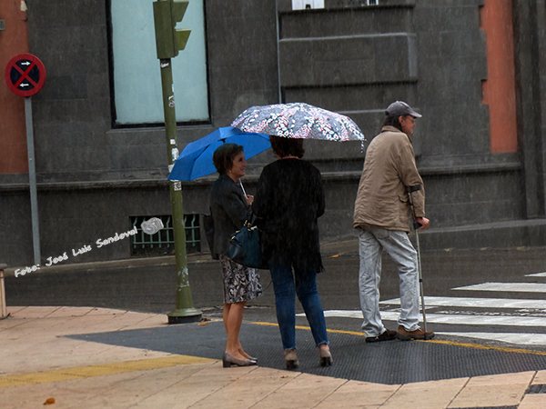 Las precipitaciones de lluvia siguen hoy jueves, 4 de mayo, en zonas de Gran Canaria / Foto: José Luis Sandoval