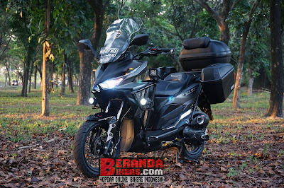 Modifikasi Hedon, Honda Vario 150 Bergaya Touring Adventure