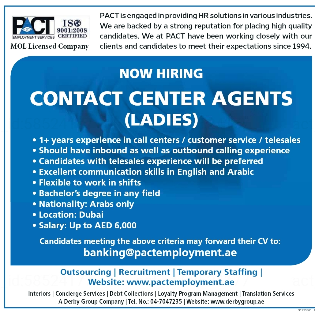 PACT is engaged in providing HR solutions in various