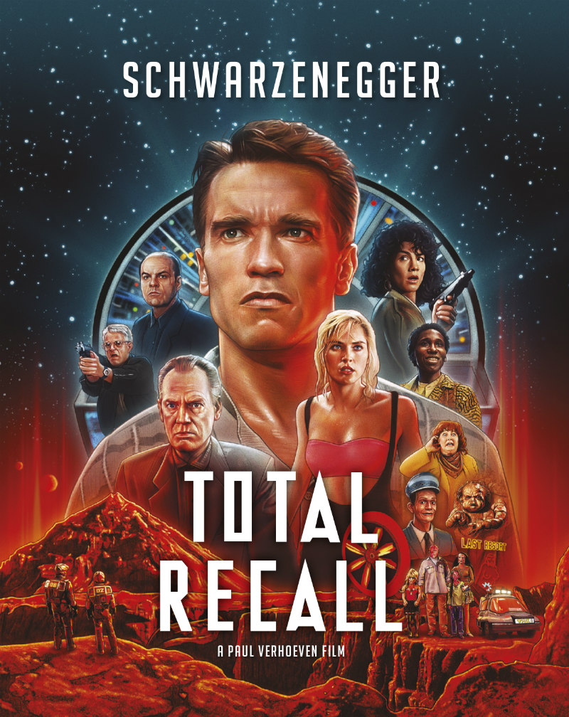 total recall 30th anniversary poster