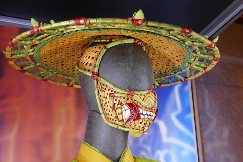Li costume hat face mask Shang-Chi