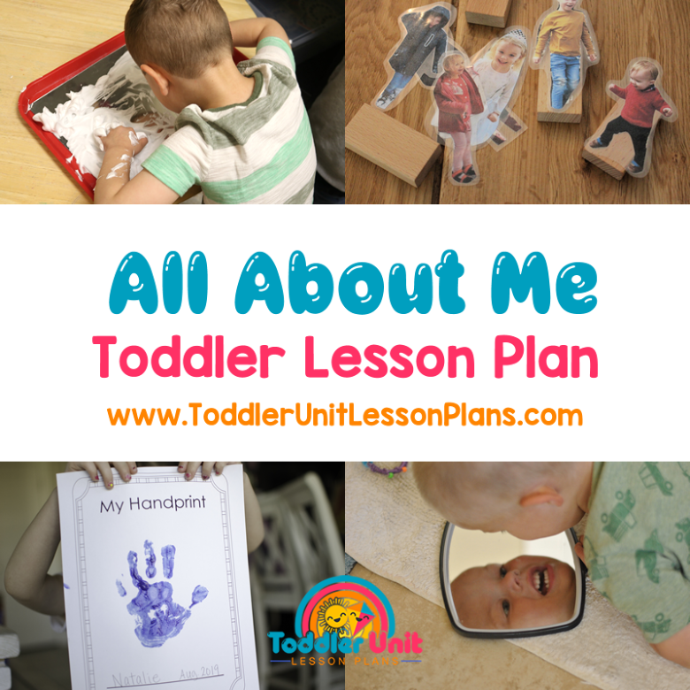 toddler lesson plans all about me