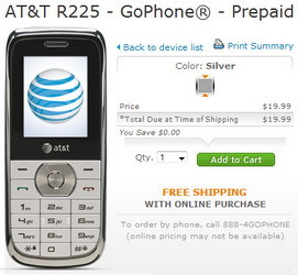 AT&T adds ZTE R225 in its GoPhone portfolio