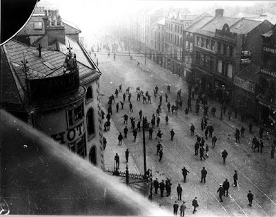 Ireland Protestant Catholic Belfast riots pogrom labour politics violence