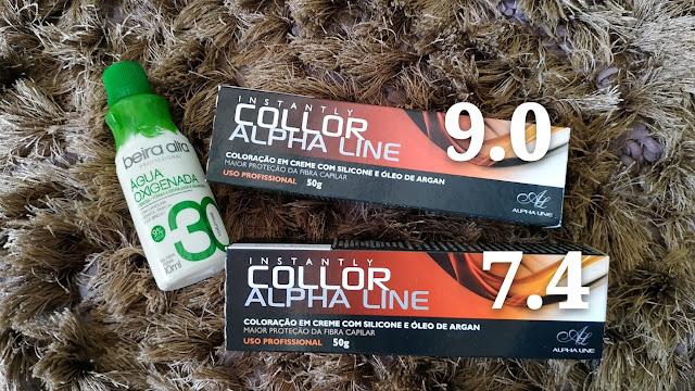 Alpha Line Collor mancha o cabelo