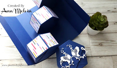 Balcony box tutorial, positivelypapercraft,