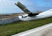 Fokker 50 Crashes Into Airport Wall In Somalia - Aero World