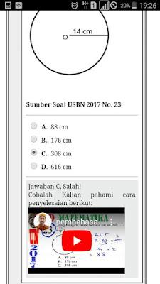 contoh halaman penyelesaian lamaso