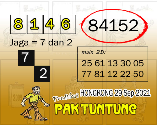 Paktuntung HK Rabu 29 September 2021 -