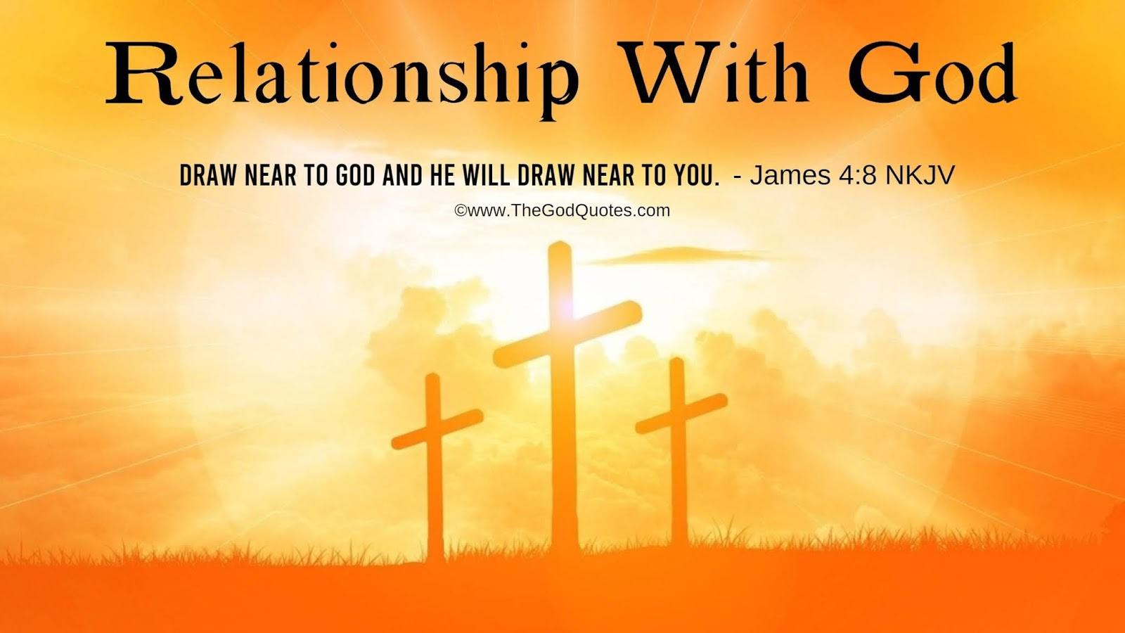 Relationship With God Quotes From The Bible