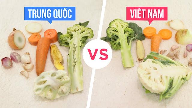 Khác nhau Trung Quốc và Việt Nam có thể bạn chưa biết