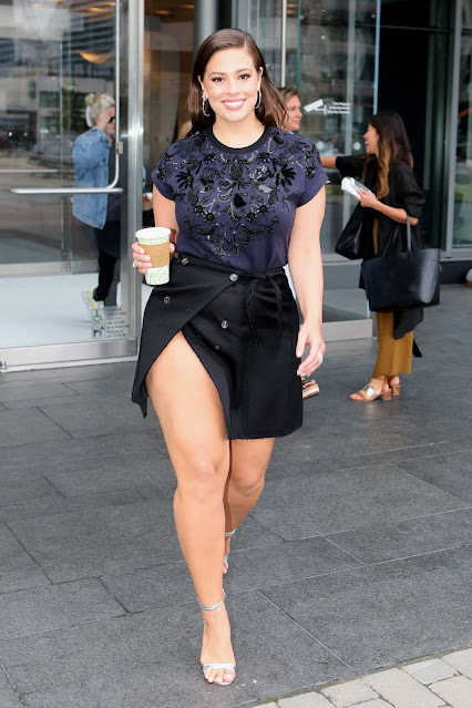 Ashley Graham – Promoting a Lingerie Line in Toronto