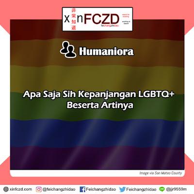 Apa Saja Sih Kepanjangan LGBTQ+ Beserta Artinya