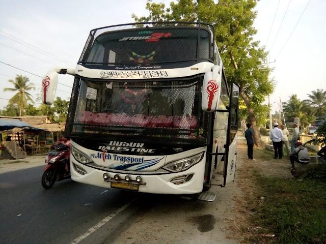 Bawa 4 Bungkus Sabu, Bus Lintas Aceh-Medan Disweeping