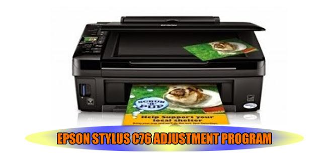 Epson Stylus C76 Printer Adjustment Program