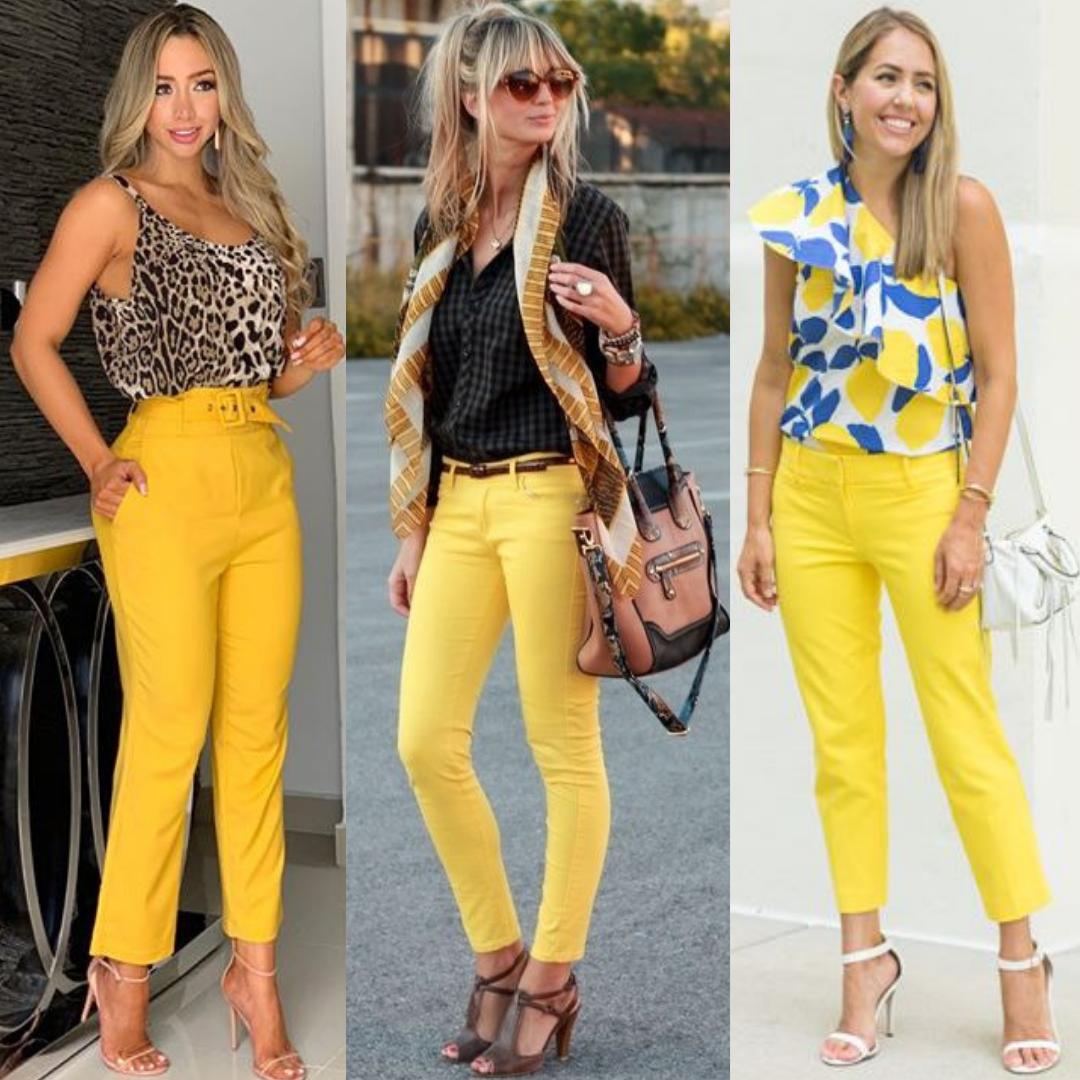 Be Coqueta Como Combinar Pantalones Amarillos
