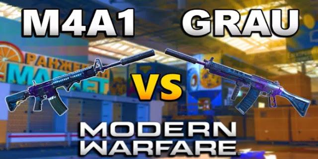 Grau 5,56 vs M4A1- Senjata Serbu Mana Yang Terbaik di Call Of Duty Warzone