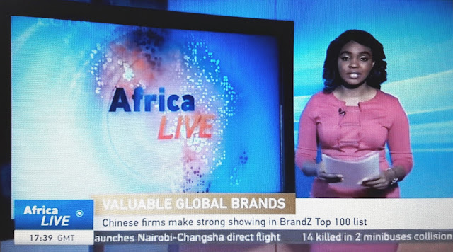 ⋆ China's CGTN information channel on DStv and StarTimes's