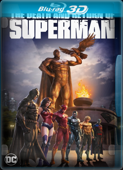 Pelicula The Death and Return of Superman (2019) 3D SBS LATINO/INGLES Online imagen